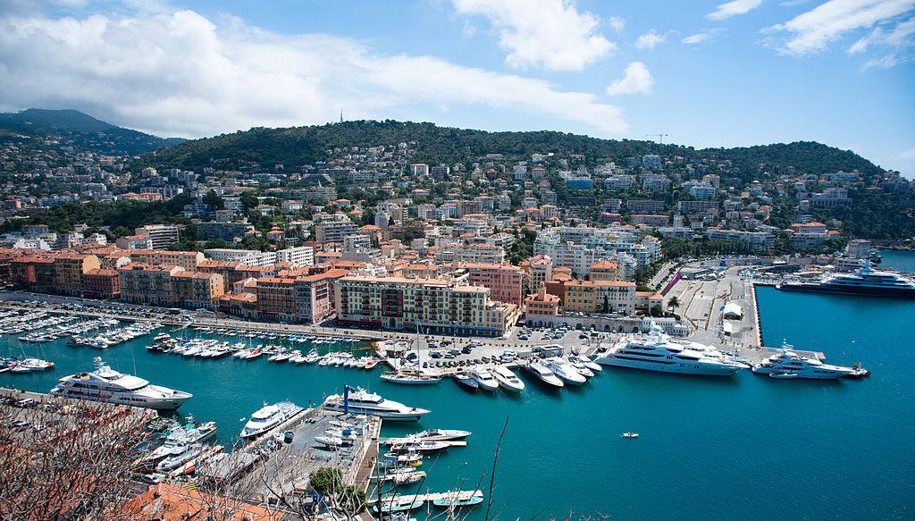 Yacht port de Nice